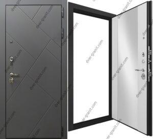 Дверь Гранит Ультра С3 Зеркало
